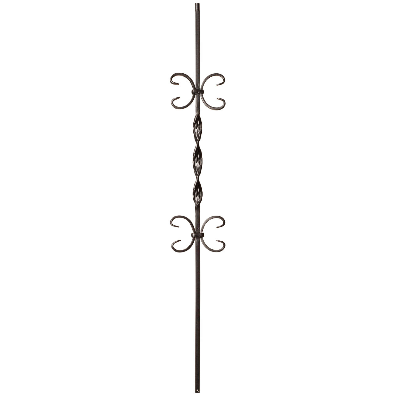 9015RS Double Butterfly Single Ribbon Tubular Steel Baluster