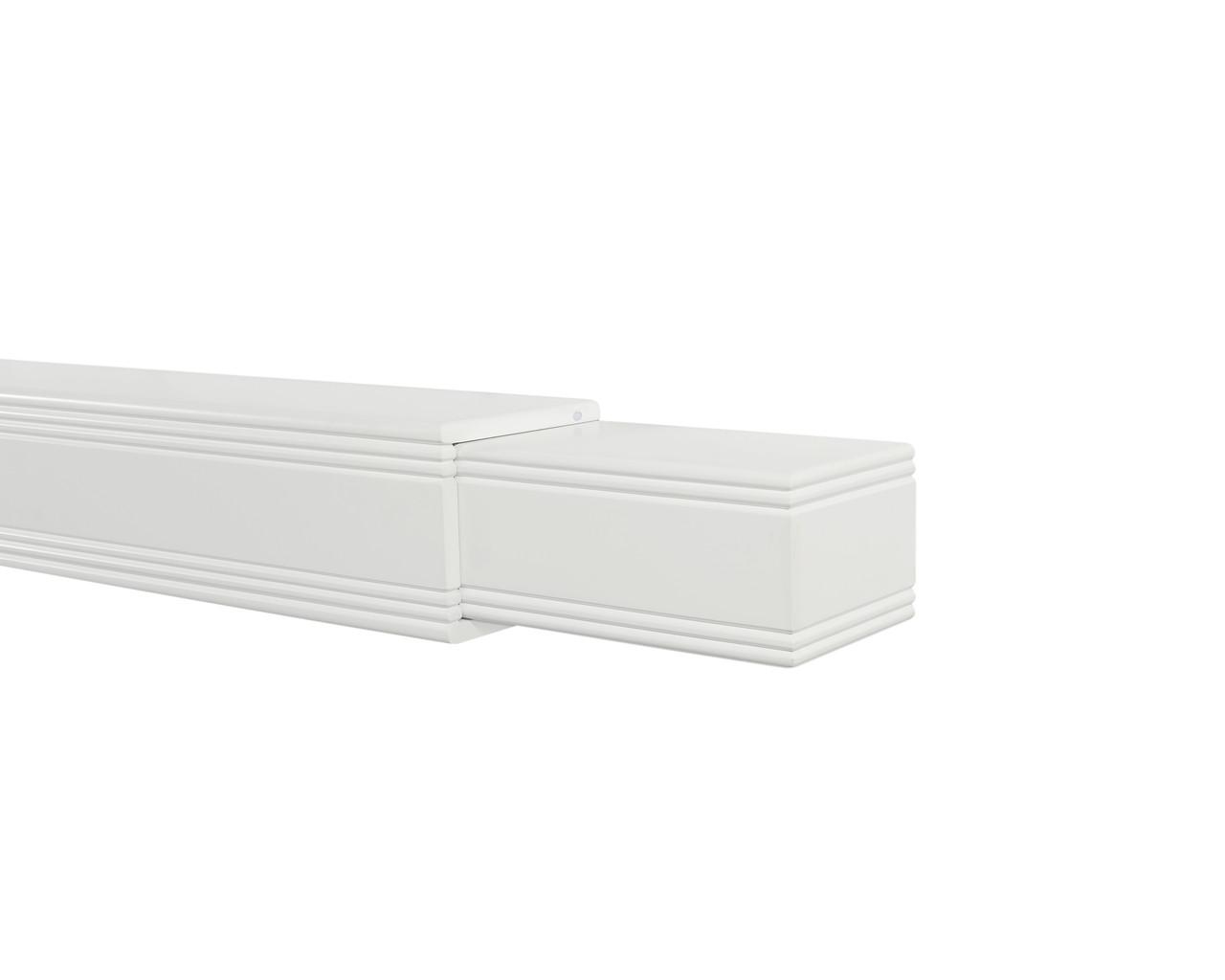 The Emory Adjustable MDF Mantel Shelf