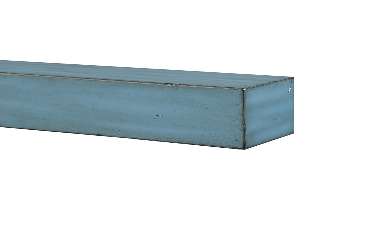 """The 412-60-26 Shenandoah Shelf, 60"""" Riviera Distressed Corner View without Corbels"""