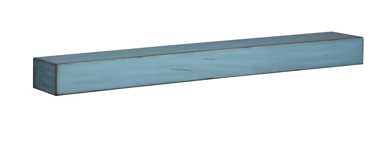 """The 412-60-26 Shenandoah Shelf, 60"""" Riviera Distressed without Corbels"""