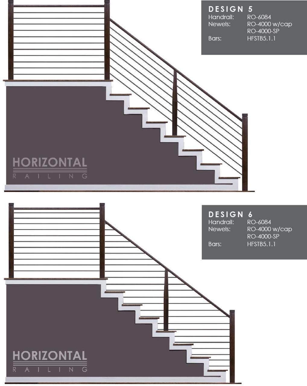 Horizontal Bar Design 5 and 6