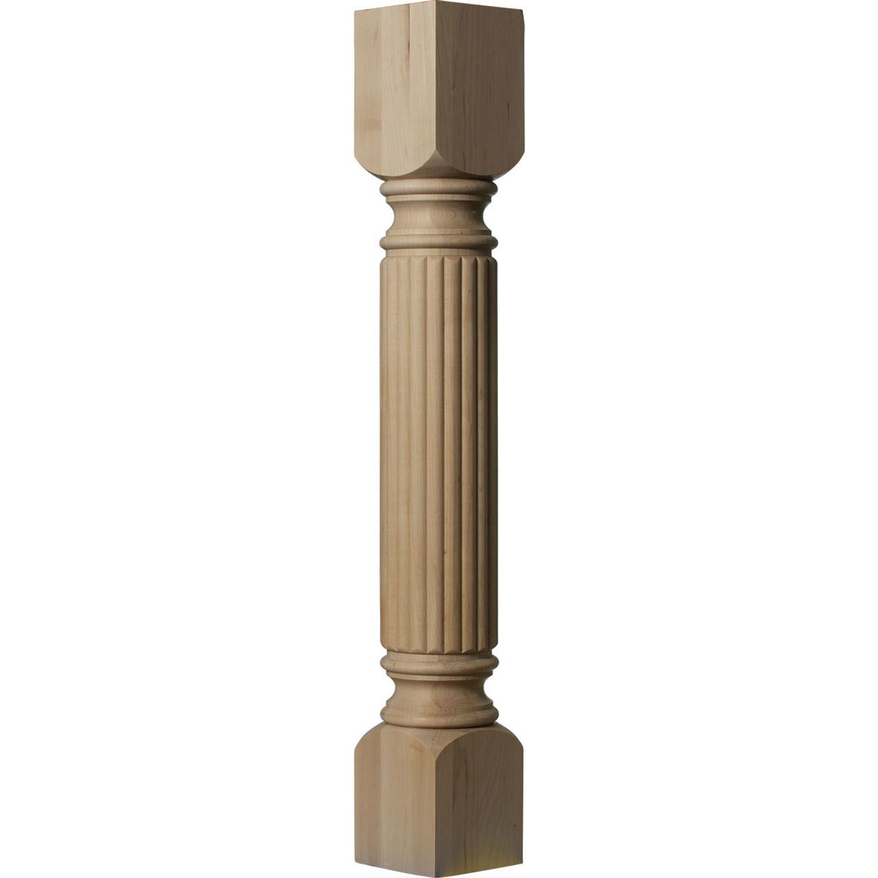 "Raymond Reeded Cabinet Column 5"" Version"