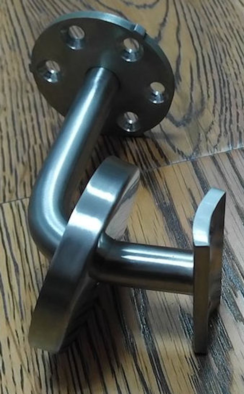 IF456XSA Stainless Steel Curved Arm Wall Rail Bracket 3