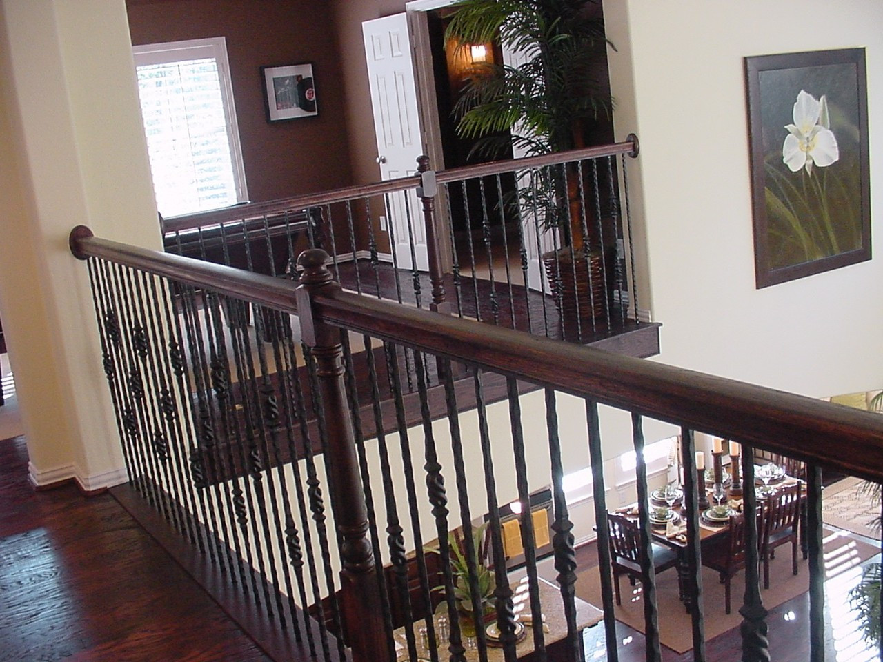 Single and Double Knob Tuscan Baluster Installation