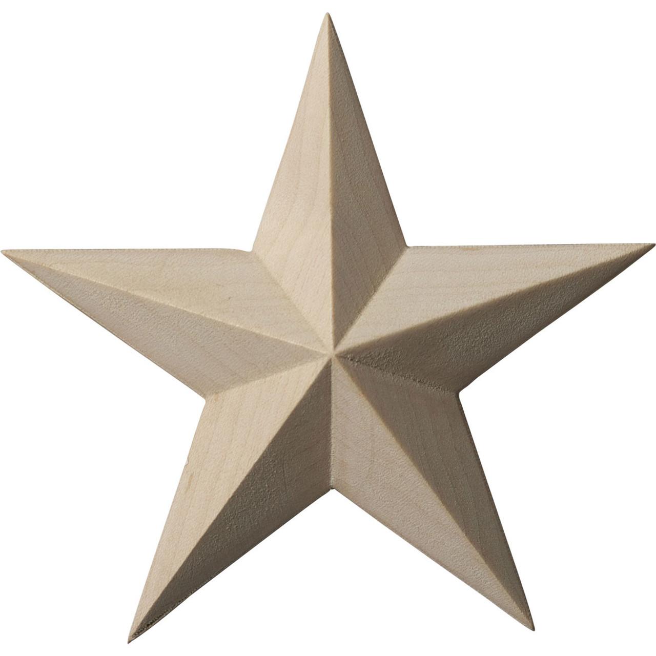 "Galveston Star, 4-1/8"" Wide (ROS04X04GL)"