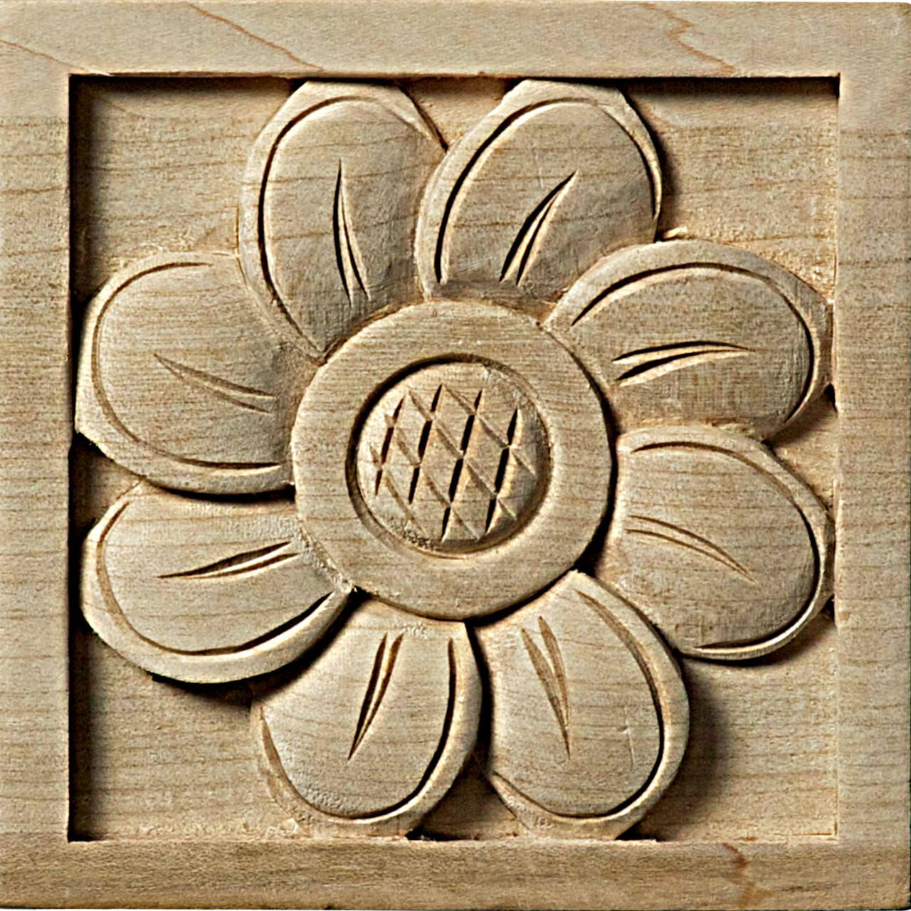 """Sunflower Rosette, 3-1/2"""" (ROS03X03X01SF)"""