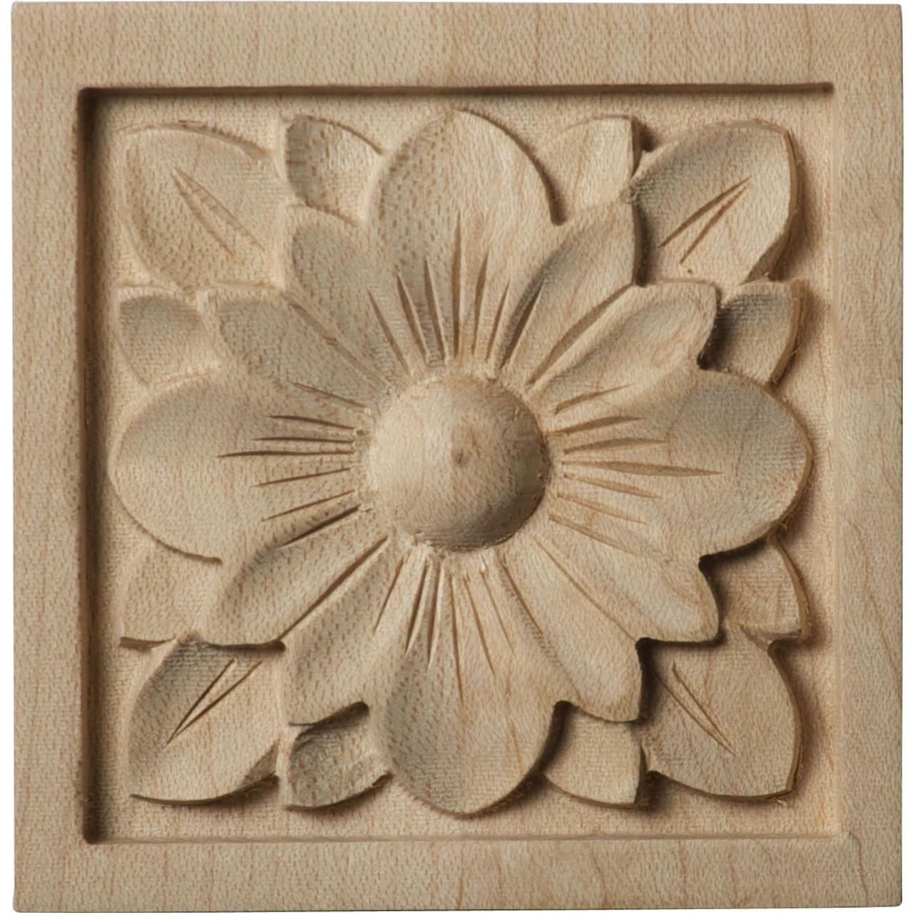 """Dogwood Flower Rosette, 3"""" (ROS03X03X00DG)"""