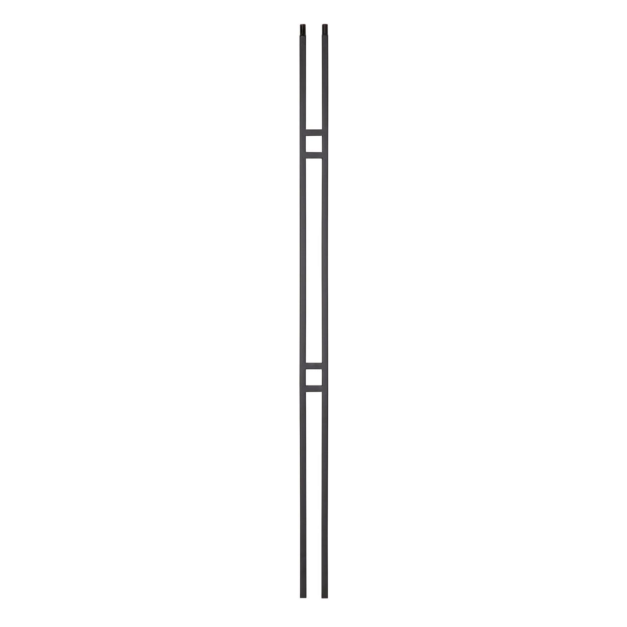 """9087CS 2 1/4"""" x 44"""" Double Bar Contemporary Baluster"""