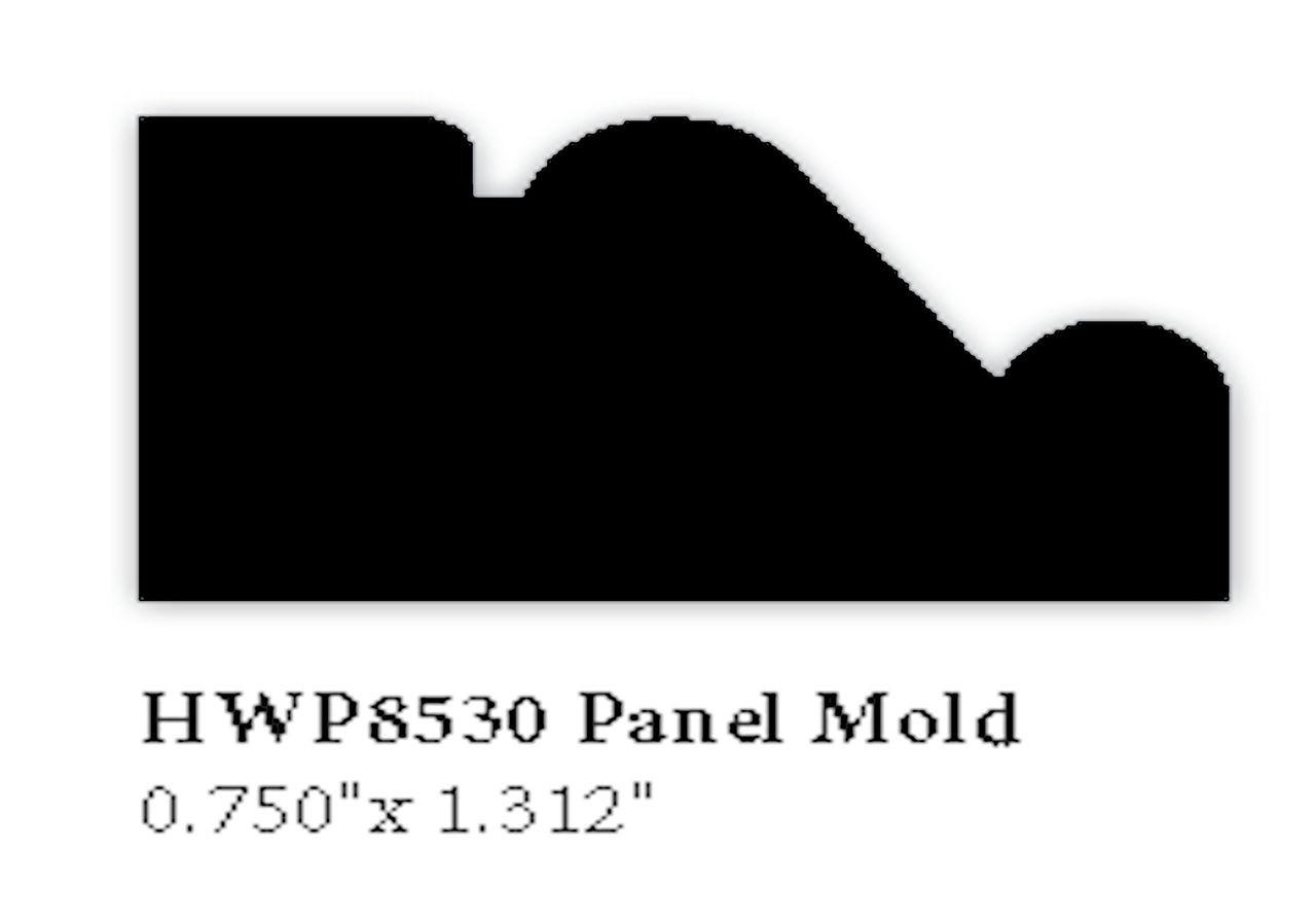 8530 Hardwood Panel Mold