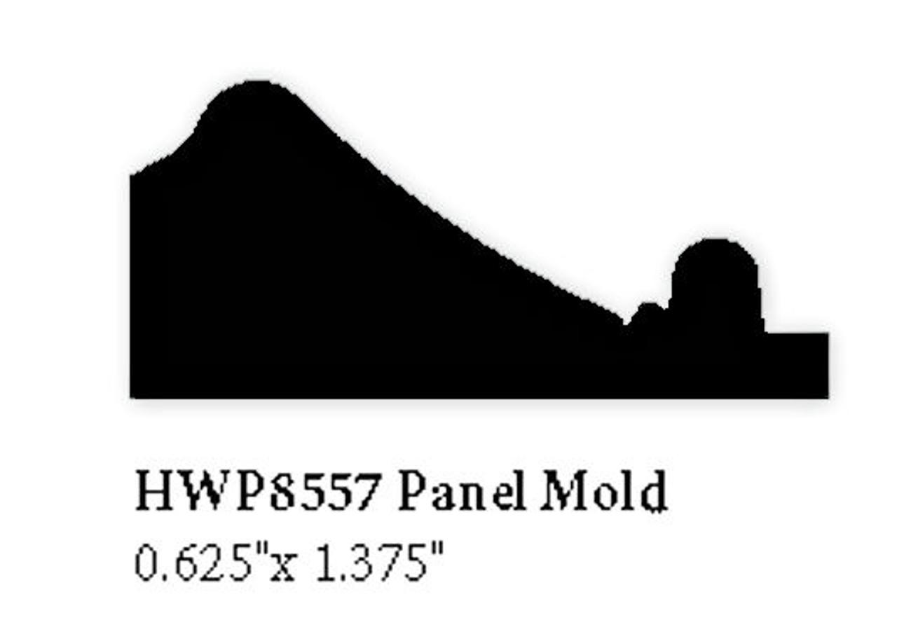 8557 Hardwood Panel Mold