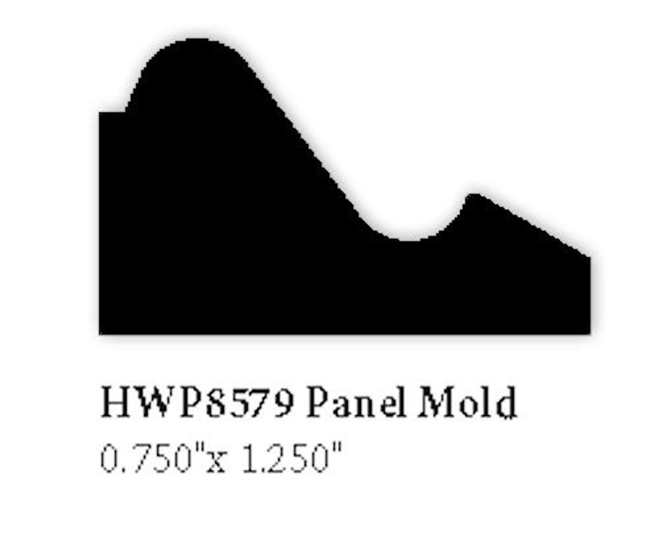 "8579 Panel Molding, 3/4"" x 1-1/4"""