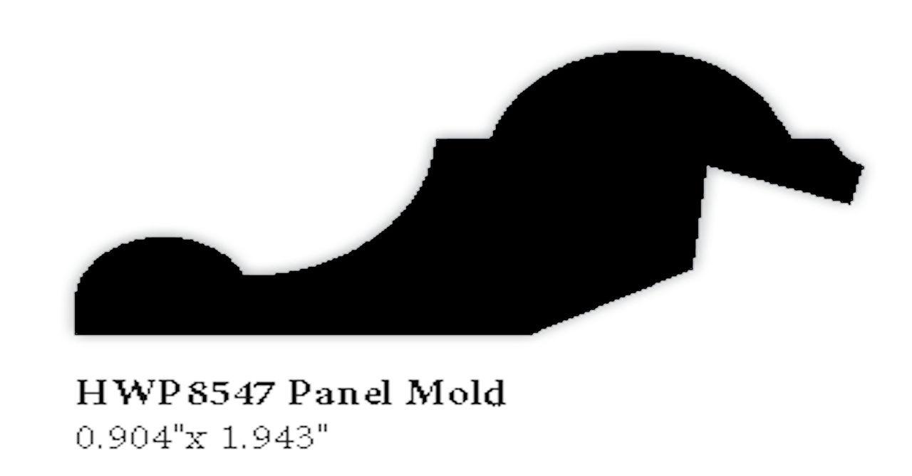 8547 Hardwood Panel Mold
