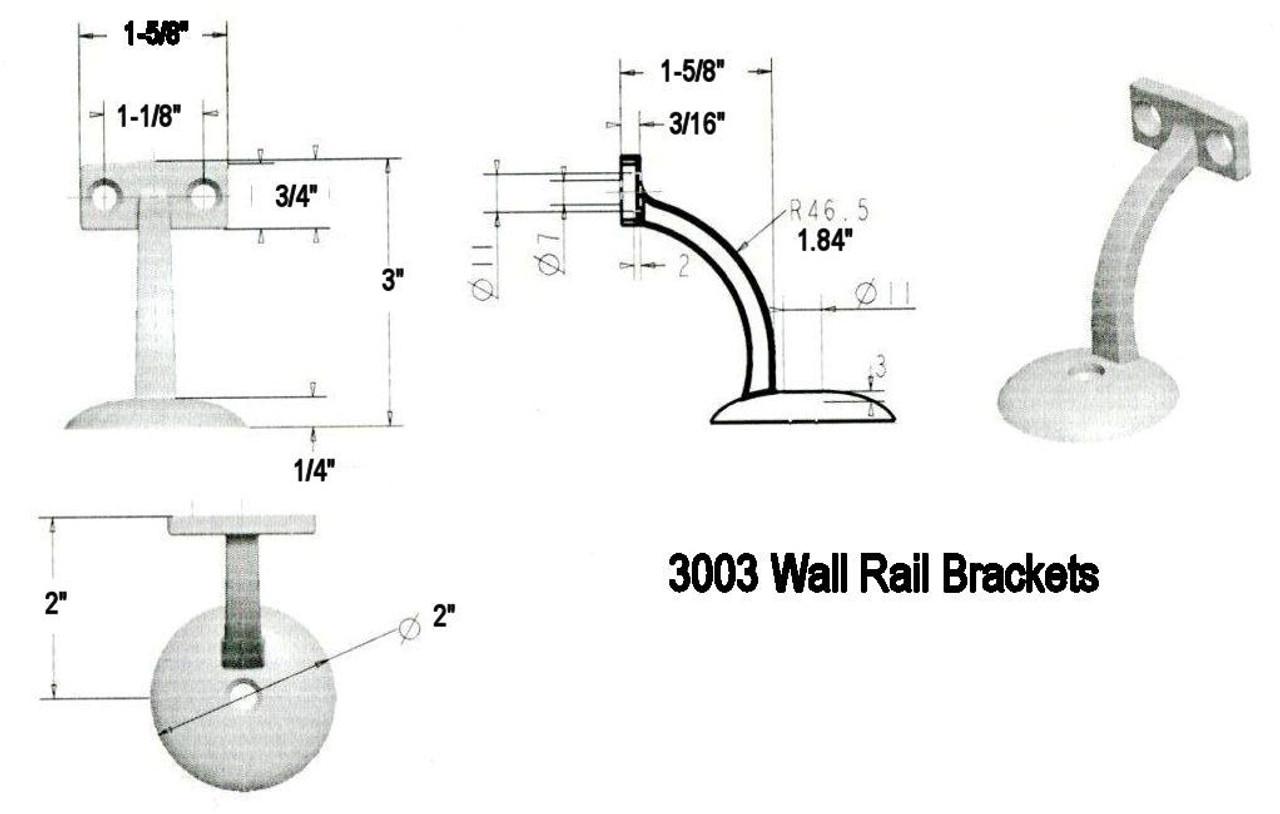 3003 CADD Dimensional Information