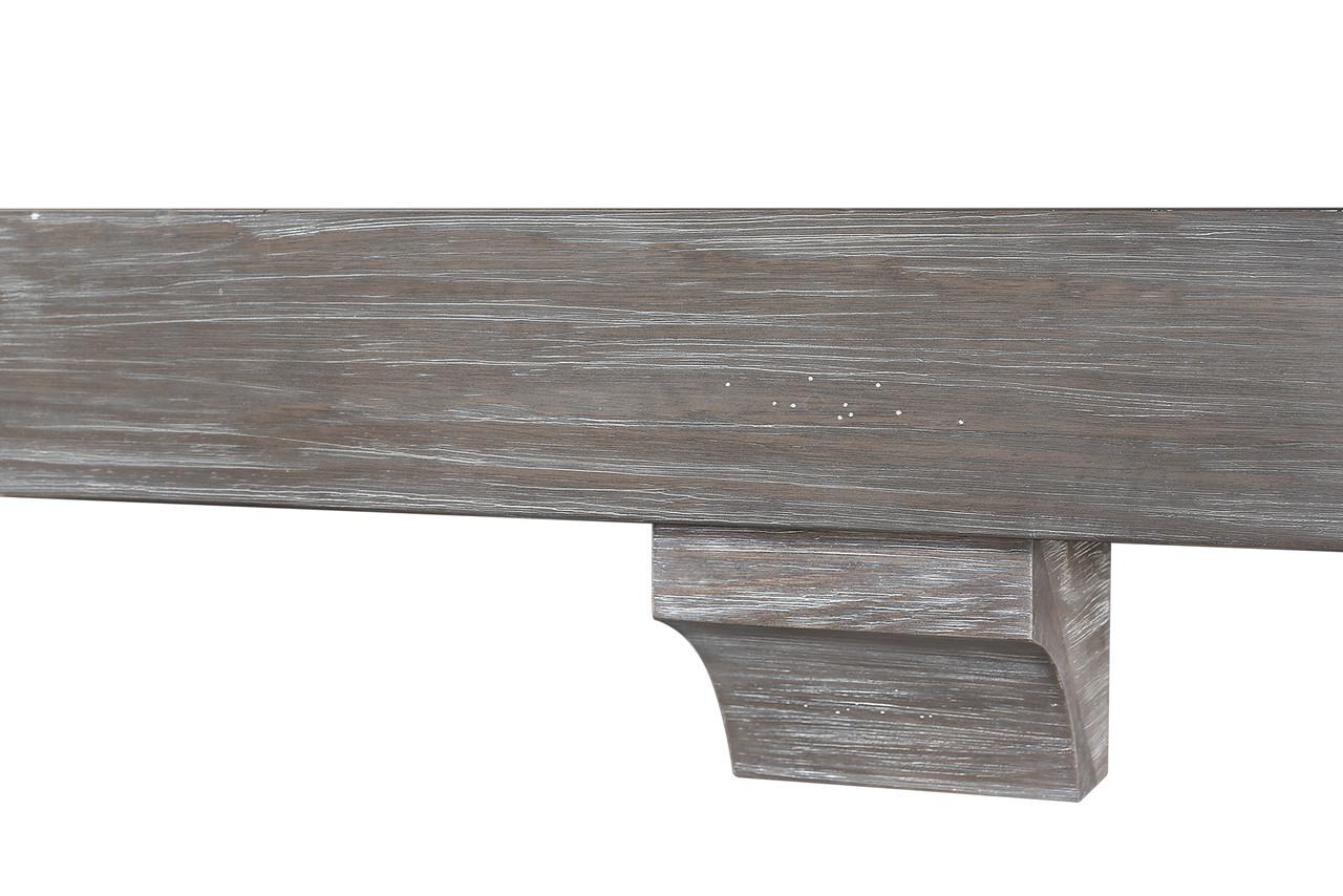 "The Shenandoah Shelf, 60"" Cottage Gray (2)"