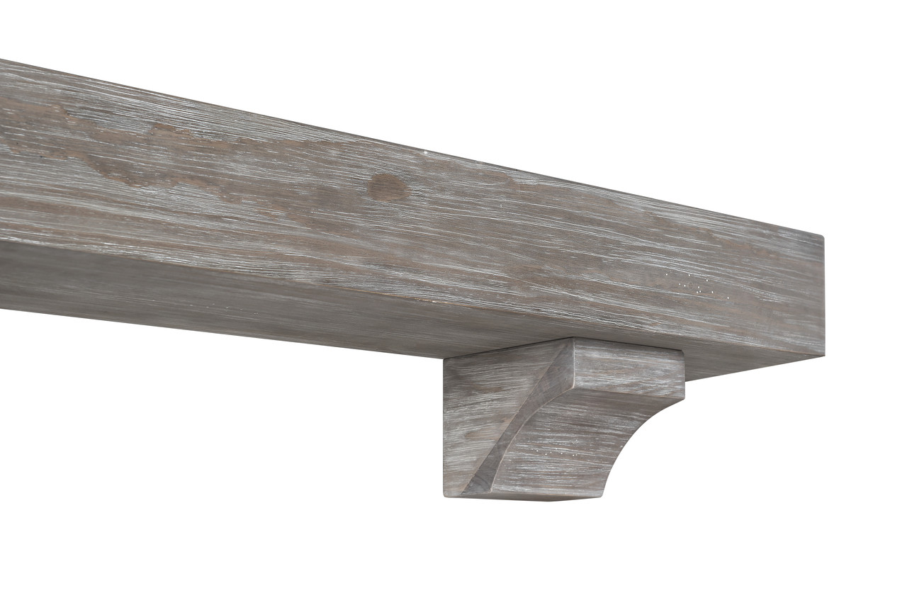 "The Shenandoah Shelf, 60"" Cottage Gray (4)"