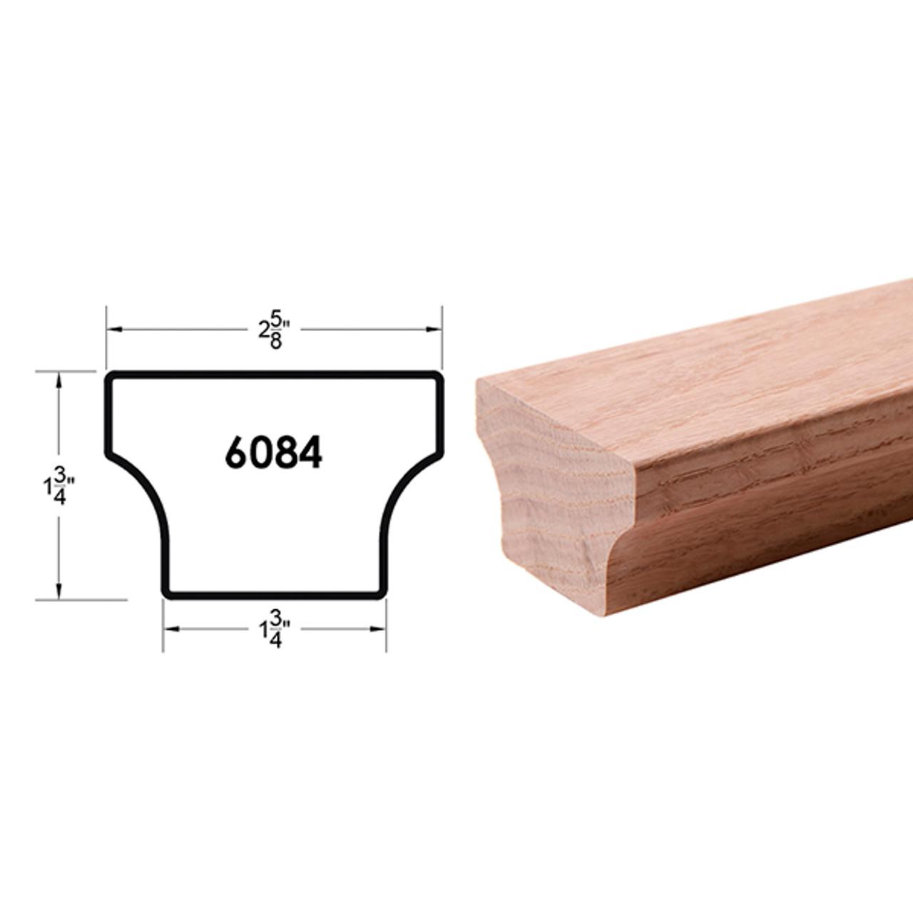 6084 Red Oak Handrail