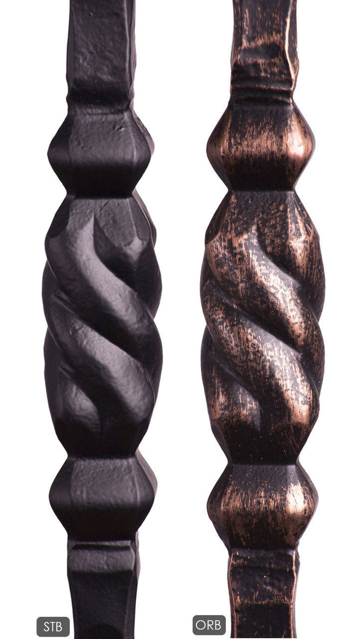 Powder Coatings Available:  Satin Black, Oil Rubbed Bronze