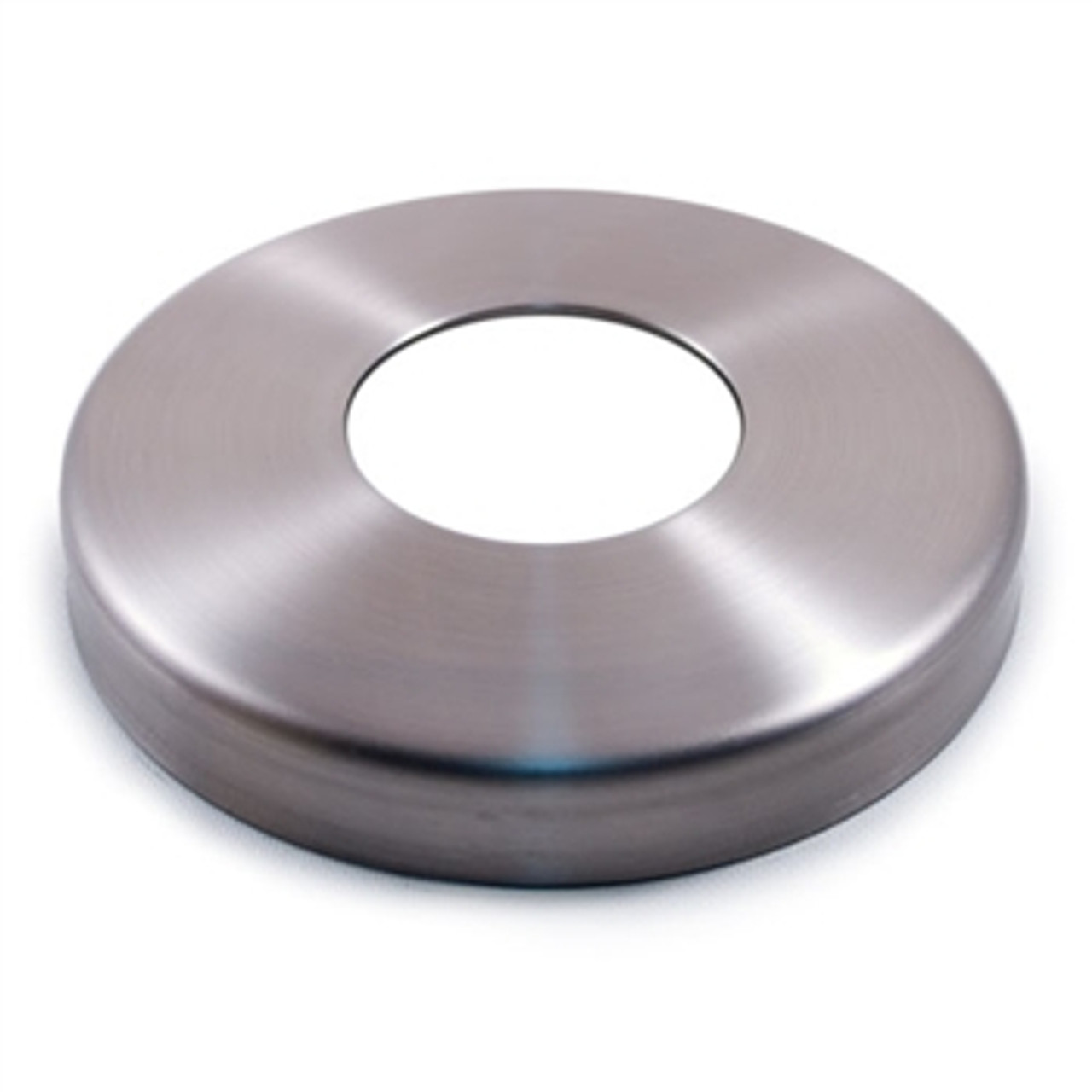 """E0183 Stainless Steel Flange Canopy, 37/64"""" Diameter Hole"""