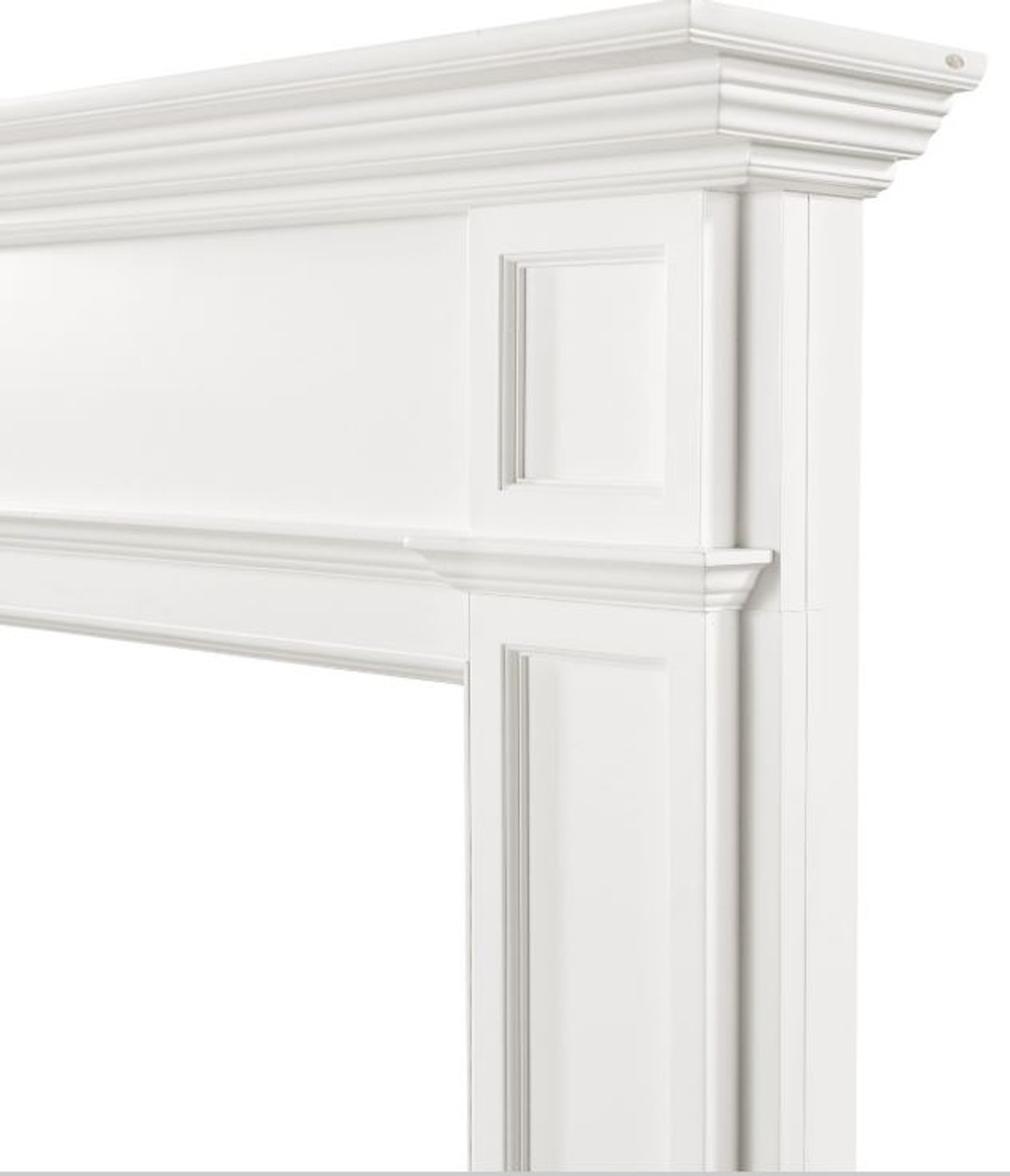 The Marshall Fireplace Mantel Surround, 48 Right Close Up