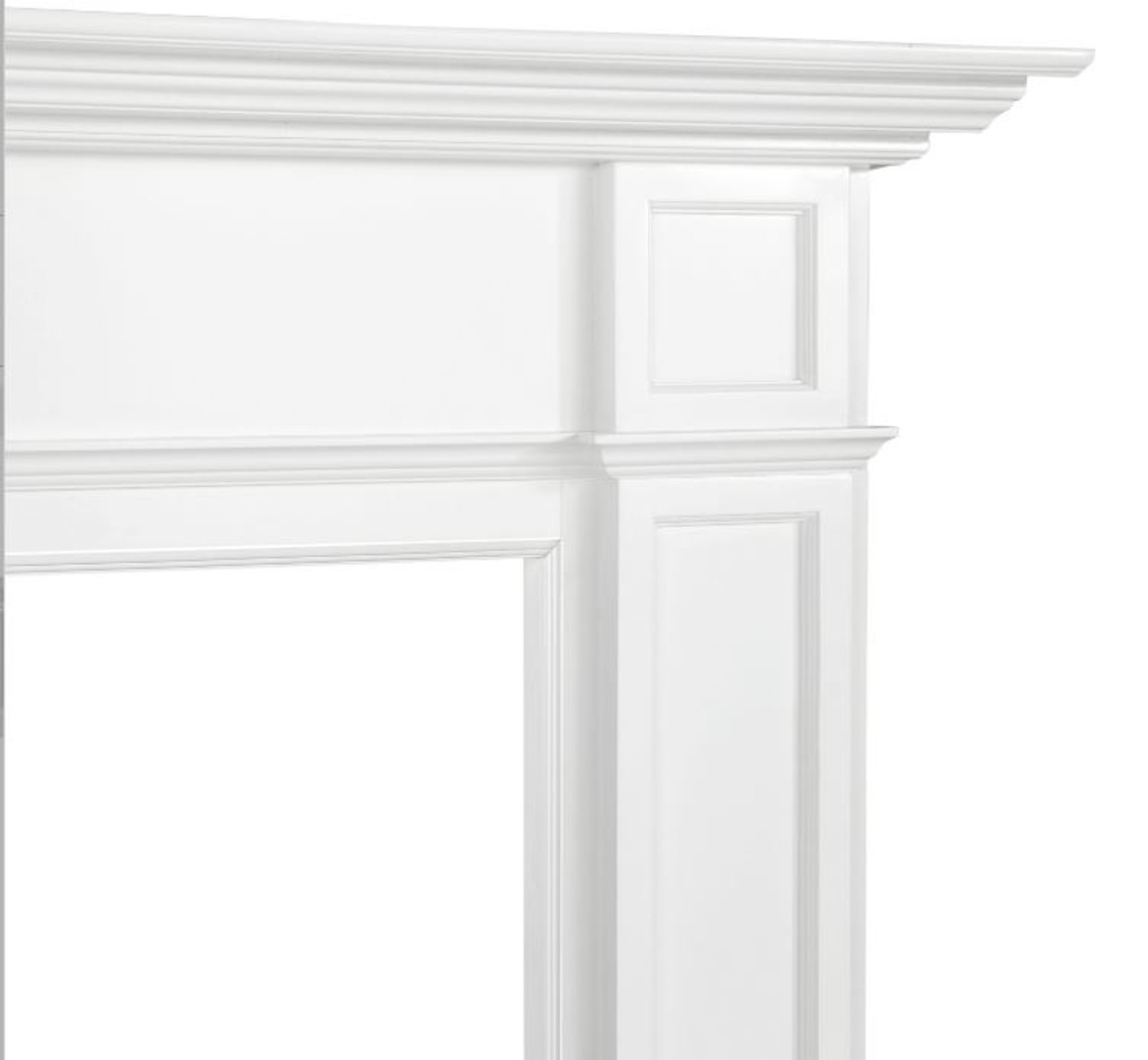 The Marshall Fireplace Mantel Surround, 48 right Close Up 2