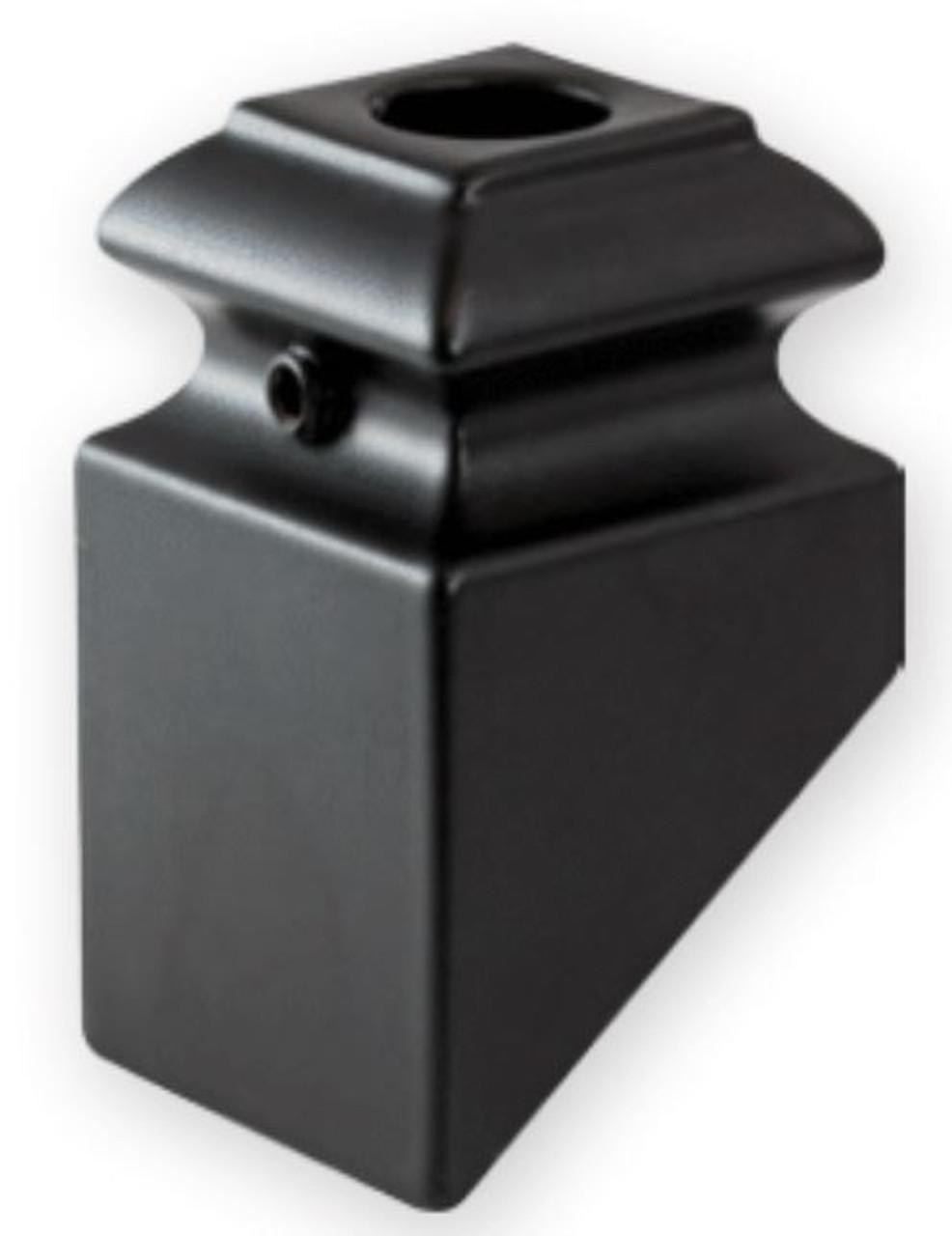 """FI3102-5 Iron Pitch Shoe 1/2"""" Round Balusters"""