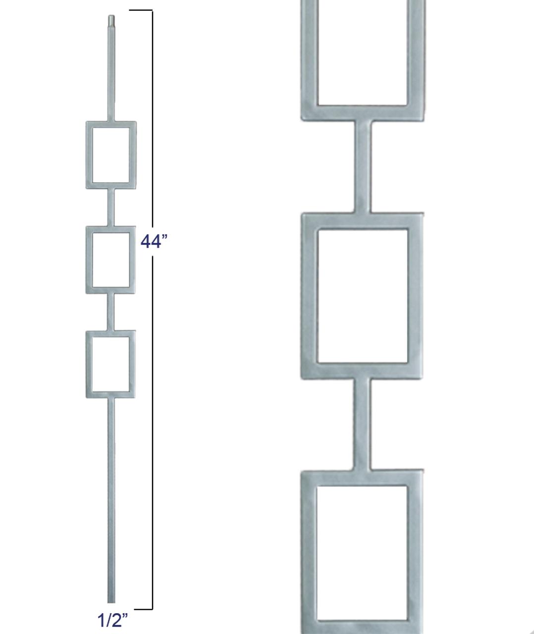 M439 Triple Square Panel Liberty Baluster