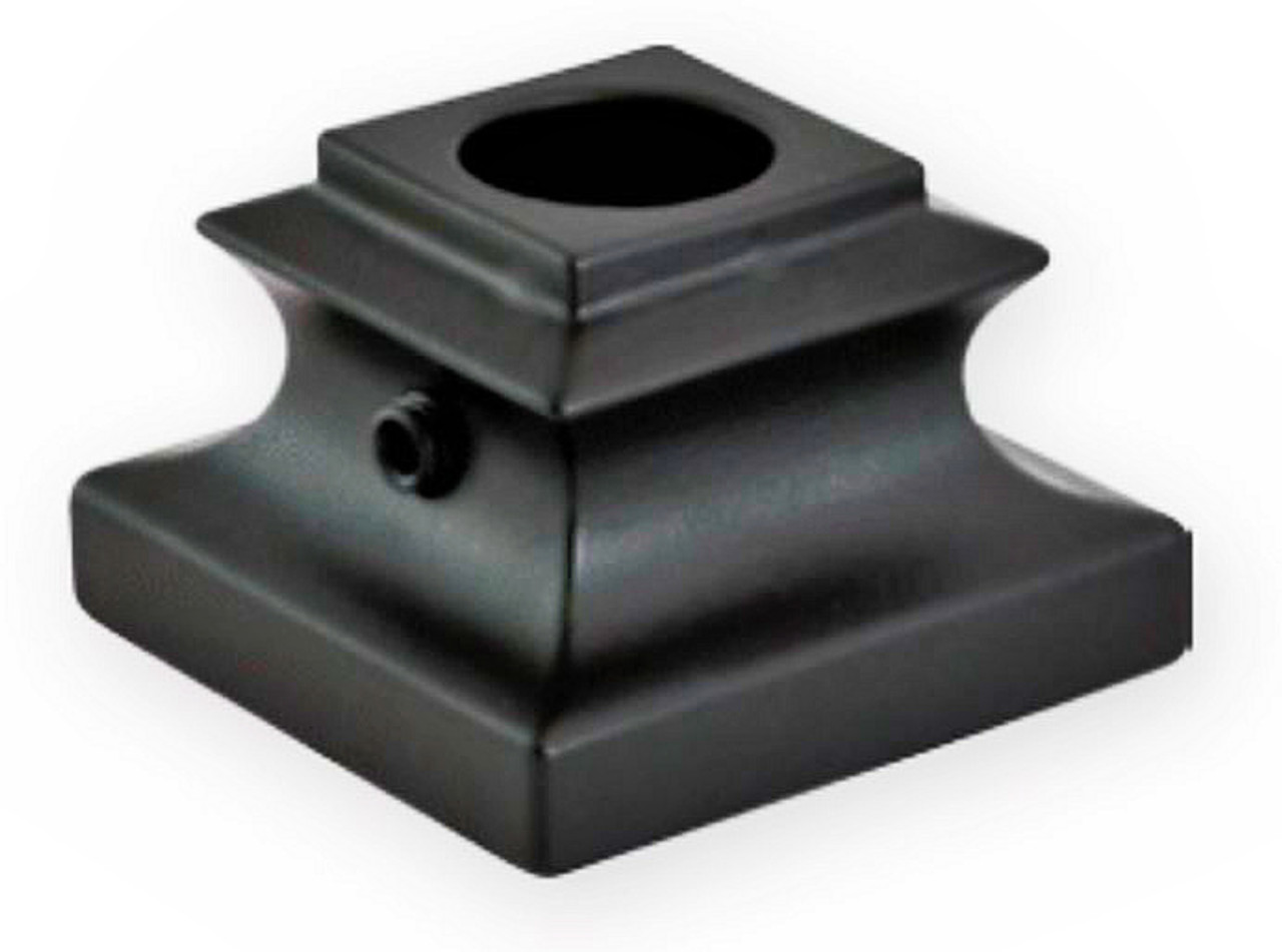 "FI3107 Base Shoe For 9/16"" Round Balusters"