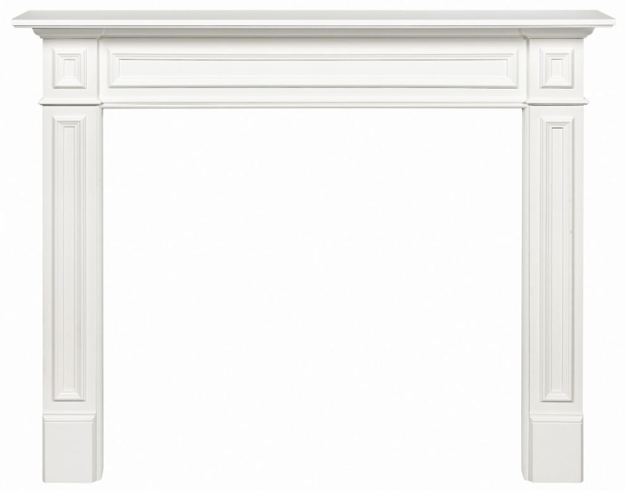 """The Mike White Painted Fireplace Mantel Surround, 48"""""""