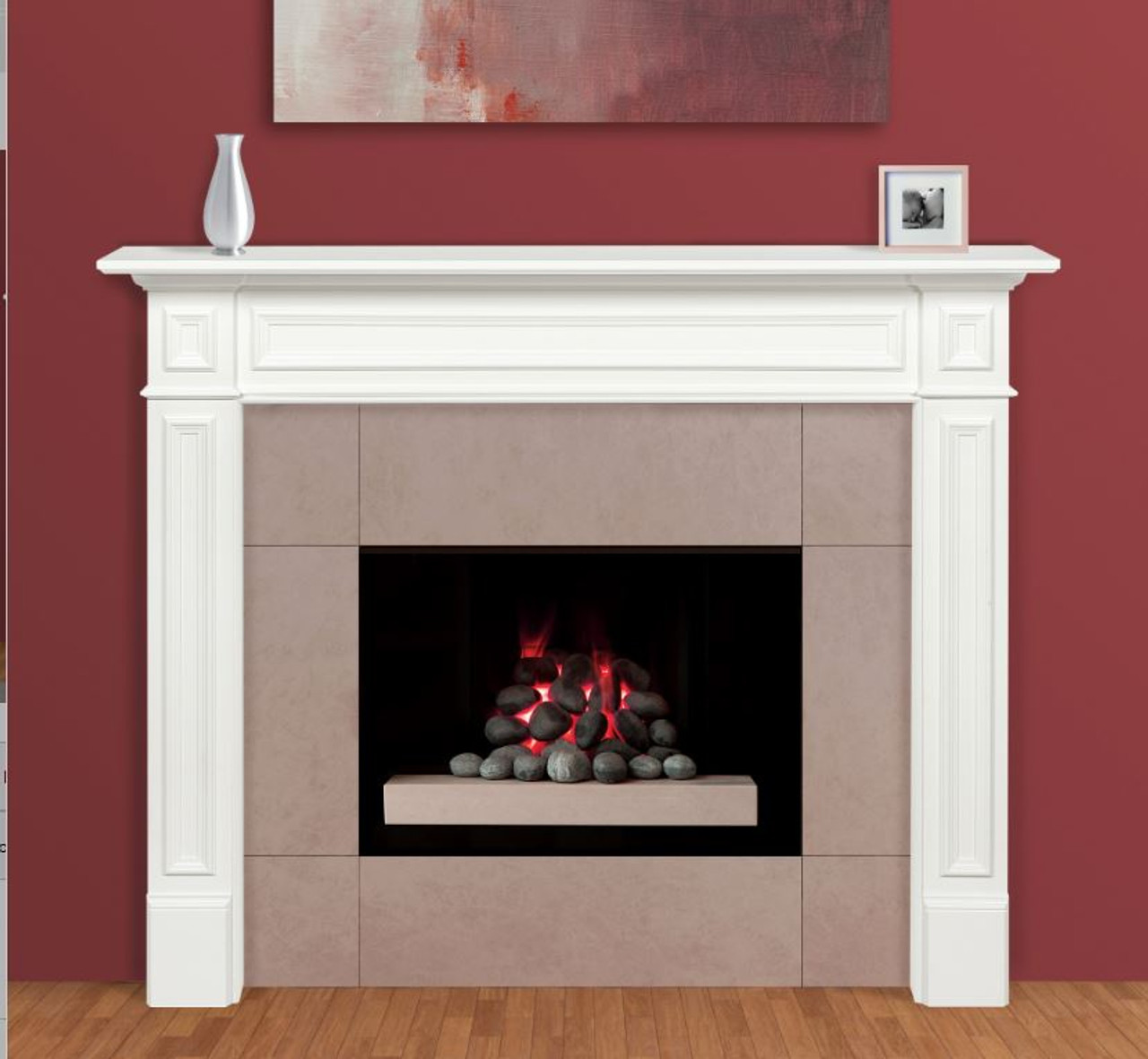 The Mike Fireplace Mantel Surround (4)