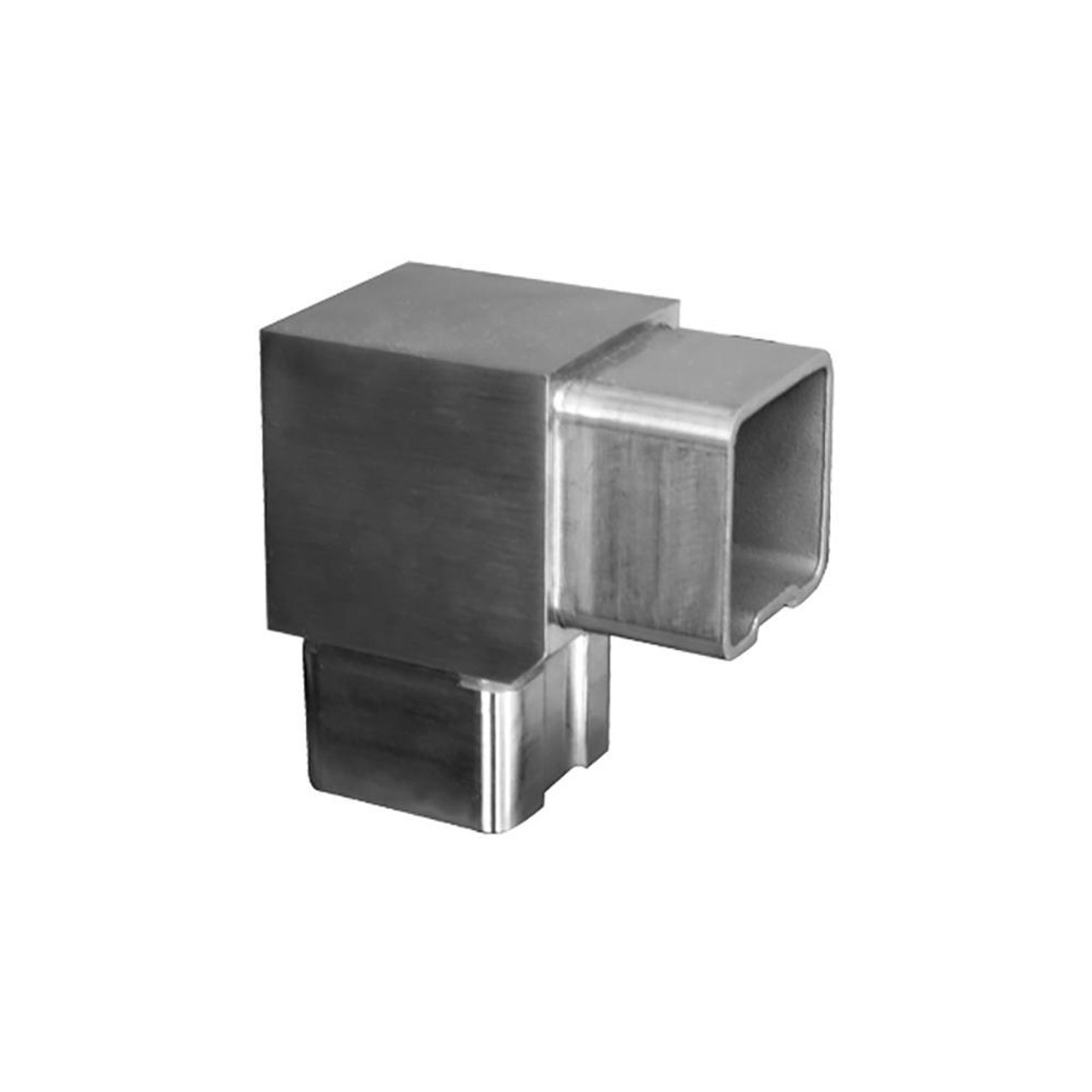90 Degree Fitting for Square Rail – 40 x 40 x 2 mm (AX20.008.110.A.SP)