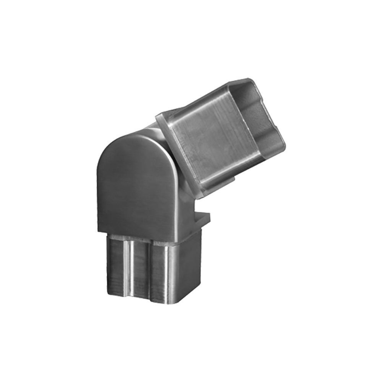 Adjustable Fitting for Square Rail – 40 x 40 x 2 mm (AX20.008.111.A.SP)