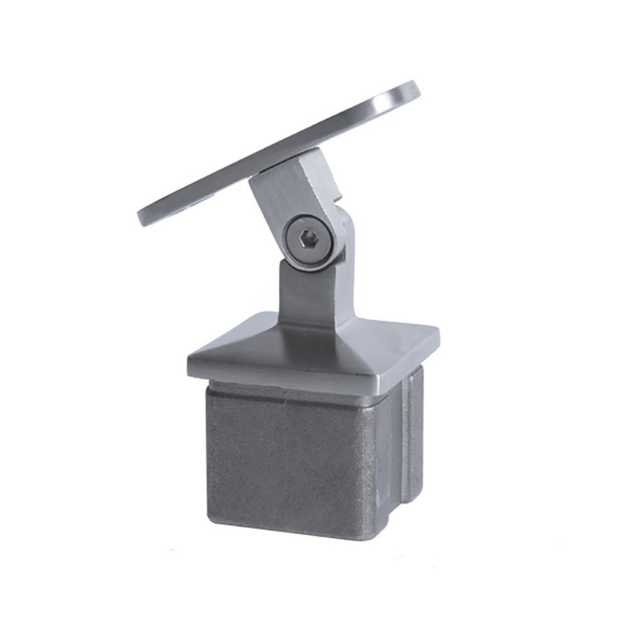 Adjustable Square Post Handrail Support ( AX20.005.031.A.SP)