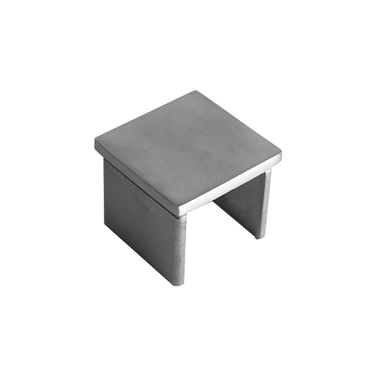 Square Glass Cap Rail End Cap (AX00.032.322.A.SP)