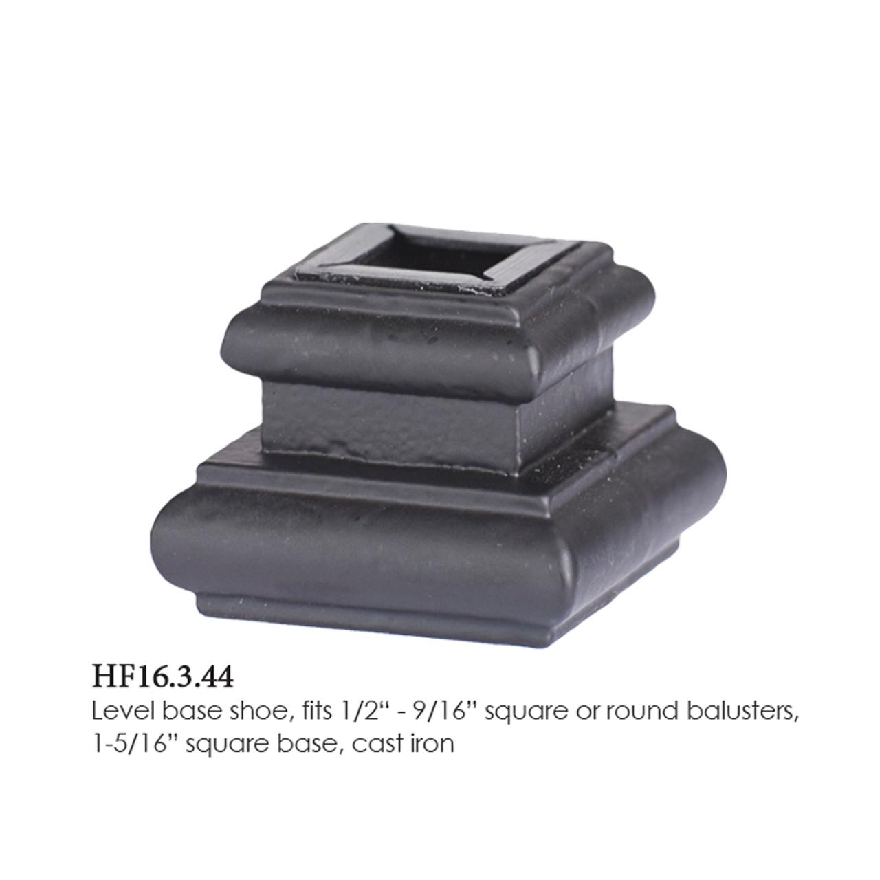 HF16.3.44 Adjustable Small Solid Iron Flat Shoe (2)