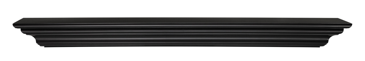 The Crestwood MDF Mantel Shelf (618), Front View