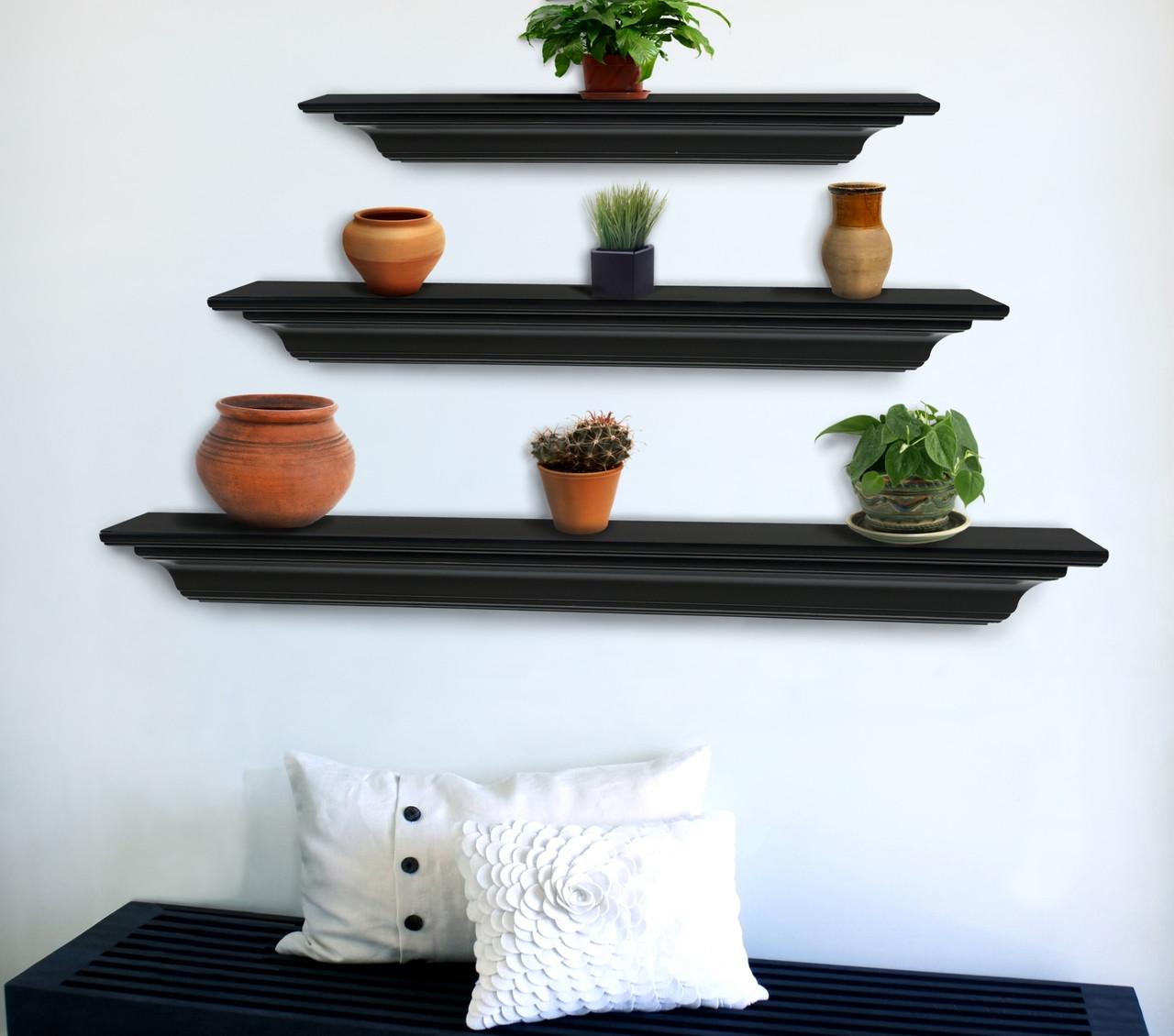 The Crestwood MDF Mantel Shelf (618), Life Style View 6