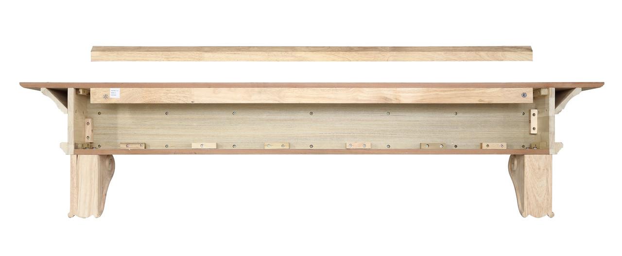 The Devonshire Mantel Shelf, back view