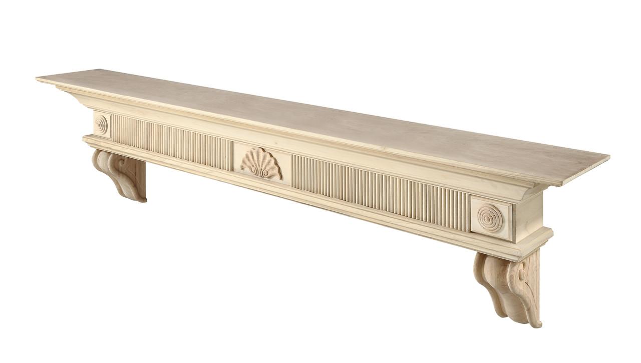 416-60 Devonshire Mantel, Unfinished Mantel Shelf (2)