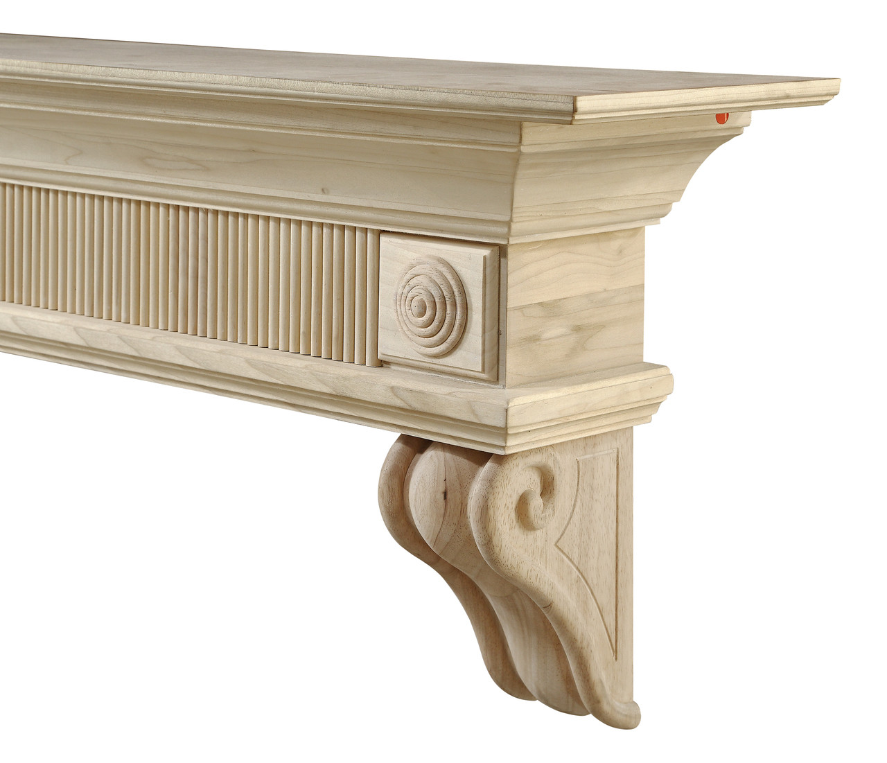 416-60 Devonshire Mantel, Unfinished Mantel Shelf (3)