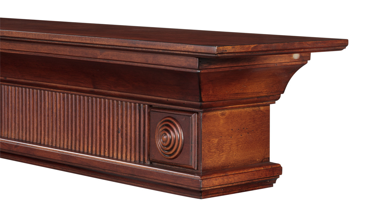 The Devonshire Mantel Shelf, Side View without corbels