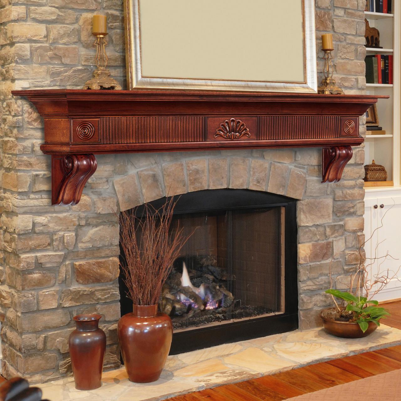 The Devonshire Mantel Shelf, Life Style View 2