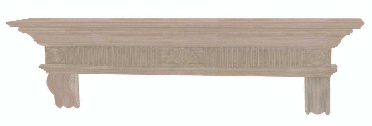 The Devonshire 416-72 Mantel Shelf, Unfinished