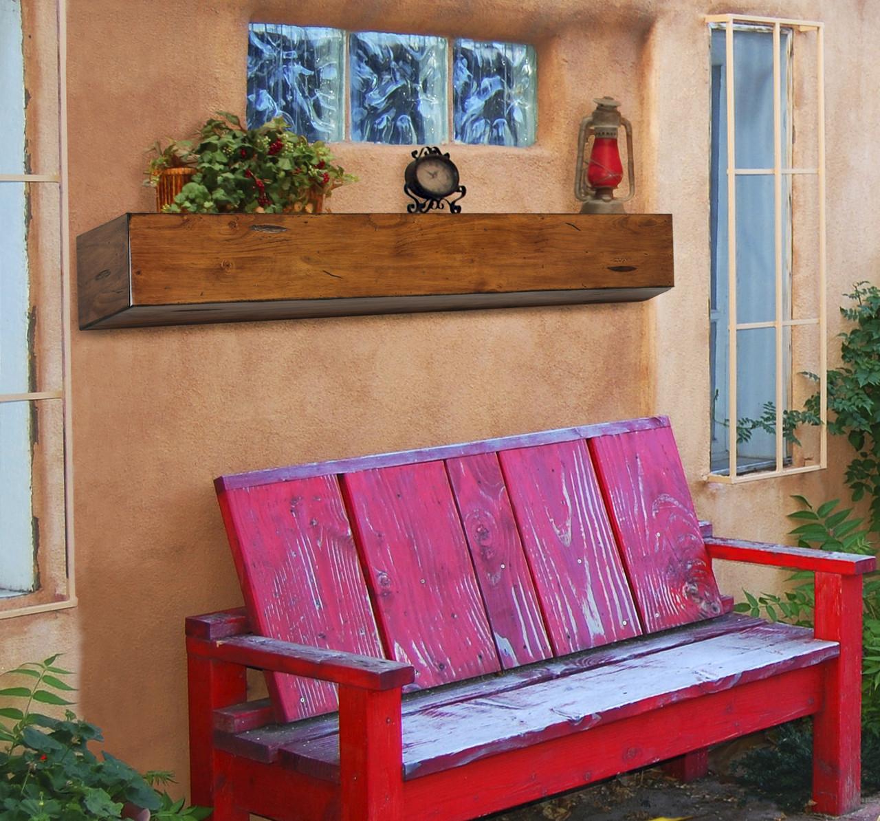 The Lexington 496 Fireplace Mantel Shelf, Life Style View 2