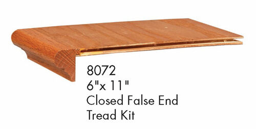 8072 Closed False Tread Kit with Riser