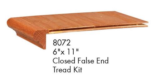 8072 Closed False Tread Kit with Riser