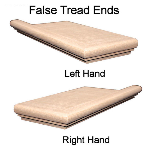 8171 Left Hand or Right Hand False End Treads