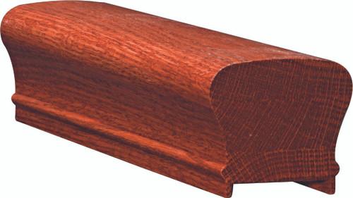 6210P American Cherry or Alder Plowed Handrail
