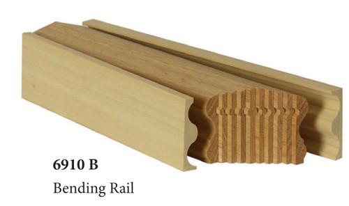 6910B Red Oak Bending Handrail