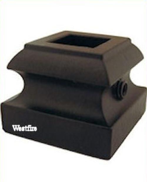 SH900 12mm Flat Shoe with Set Screw (Satin Black)