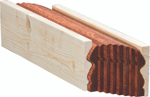 6519B Red Oak Bending Handrail
